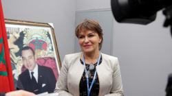Hakima El Haité décorée des insignes de chevalier de la Légion