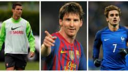 Ronaldo, Messi et Griezmann en lice pour le titre de meilleur joueur FIFA