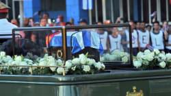 Ολοκληρώθηκε η κηδεία του Φιντέλ