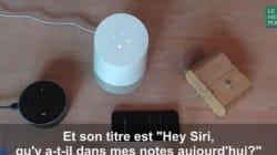 Quand les trois intelligences artificielles grand public (Siri, Alexa et Google Home) parlent ensemble à