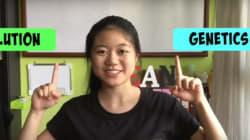 영상 하나로 이 학생은 3억 원의 장학금을