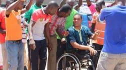 Élection présidentielle au Ghana: Ce candidat veut prouver que politique et handicap sont