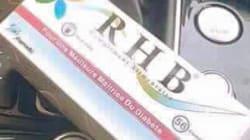 Le ministère du Commerce décide de retirer le produit RHB et met en garde contre son