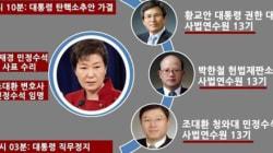 대통령 직무정지 직전, 박근혜가 했던 마지막