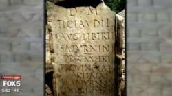 On a retrouvé une tombe romaine datant de l'an 54... enterrée près de New