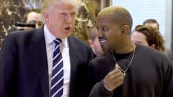 Ο Kanye West στον πύργο του Donald
