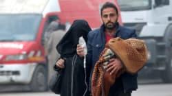 수많은 시리아인들이 생명의 위협과 마주하고
