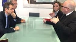 Το σχέδιο της ΝΔ για την έξοδο από την κρίση παρουσίασε ο Μητσοτάκης στις συναντήσεις του στις