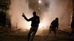 Επίθεση κουκουλοφόρων σε αστυνομικούς της ΟΠΚΕ στα