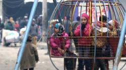 Συρία: Tα 47 παιδιά που είχαν εγκλωβιστεί σε ορφανοτροφείο στο Χαλέπι απομακρύνθηκαν με