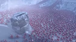 4천 명의 산타와 1만 마리 펭귄의