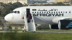 Redittion des deux pirates de l'Airbus A320 détourné à