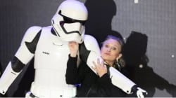 Carrie Fisher, la princesse Leia de
