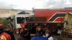 Tunisie: Un train percute un bus à Jbel Jloud, plusieurs morts et des dizaines de
