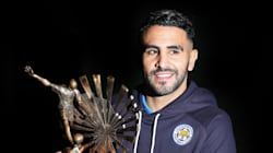 Football: Mahrez 2e meilleur joueur arabe de l'année
