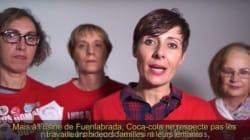 Des ouvrières en Espagne détournent les pubs de Noël Coca-Cola pour dénoncer leurs conditions de