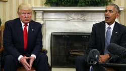 Τηλεφωνική επικοινωνία Τραμπ-Ομπάμα μετά τη γκρίνια του νέου προέδρου στο