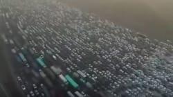 Κυκλοφοριακό χάος στην Κίνα: To μποτιλιάρισμα που έσπασε κάθε