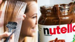 Ce coiffeur utilise du Nutella pour teindre les cheveux de ses clientes