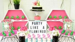Δεν είναι πάρτι αν δεν υπάρχουν παντού φλαμίνγκο: Η τάση που θα αγαπήσουν όλοι το
