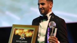 Riyad Mahrez élu Joueur africain de l'année