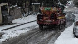 Καταφθάνει το κύμα ψύχους: Χιόνια σε Καστοριά, Κοζάνη, Φλώρινα και