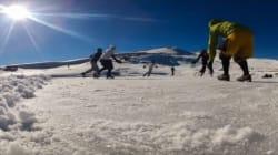 Ζην επικινδύνως: Χόκεϊ στην παγωμένη Δρακόλιμνη του