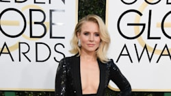 Τι φορούσε η Kristen Bell κάτω από το εντυπωσιακό φόρεμά της στις Χρυσές