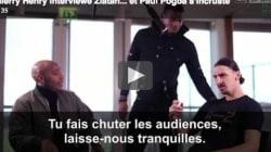 Paul Pogba s'incruste dans une interview entre Thierry Henry et Zlatan