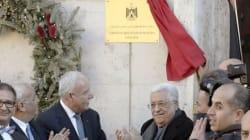Inauguration de l'ambassade palestinienne au