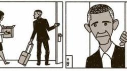 Ce dessinateur a une vision sombre de l'après Obama aux