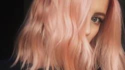 Le blondorange est la nouvelle couleur cheveux tendance des filles