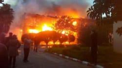 Incendie à la Cité Universitaire des filles de Ben