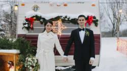 연말연시에 올리는 결혼식에는 특별한 데가