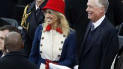 La tenue de Kellyane Conway, conseillère de Donald Trump, n'est pas passée inaperçue lors de