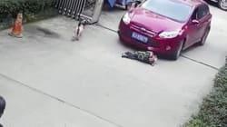 Κίνα: Αγόρι που έκλαιγε στον δρόμο παρασύρθηκε από διερχόμενο αμάξι και
