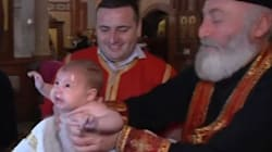 Το πιο ενοχλητικό ρεκόρ στον κόσμο: Ο Πατριάρχης της Γεωργίας βάπτισε 780 μωρά σε μία