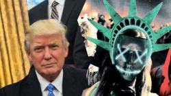Trump a déposé son slogan pour 2020 (et c'est le même que celui d'un film