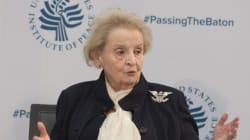 La réponse très forte de l'ex-ministre Madeleine Albright au décret anti-musulmans de Donald