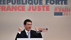 Primaire de la gauche: La touchante fin du discours de Manuel Valls que les téléspectateurs n'ont pas pu