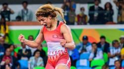 Sport-lutte: Tournoi International de Paris: Marwa Amri s'offre
