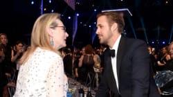 Η Meryl Streep και ο Ryan Gosling μας προσέφεραν την πιο τρυφερή στιγμή των SAG