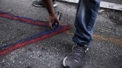 Οι γκραφιτάδες ζωγραφίζουν βαγόνια με την αστυνομία στο κατόπι. Συλλήψεις σε