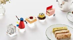 Ένα ξενοδοχείο στο Λονδίνο πήρε μερικά από τα πιο διάσημα έργα τέχνης και τα έκανε γλυκάκια για