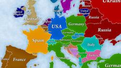 Δύο χάρτες της Ευρώπης που δείχνουν πόσοι άνθρωποι αναγκάστηκαν να φύγουν από τη χώρα τους και που