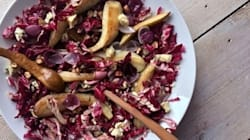 Warming Winter Salad Of Blue Cheese, Pear And