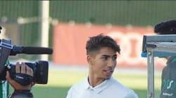 Au Real Madrid, Achraf Hakimi prend de l'importance aux yeux de Zinedine