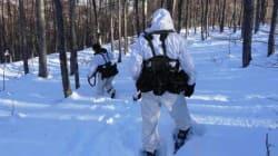 Κομάντος στα χιόνια: Στιγμιότυπα από την εκπαίδευση της Β' Μοίρας