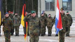 Η Λιθουανία καλωσόρισε Γερμανούς στρατιώτες που έφθασαν εκεί στο πλαίσιο του