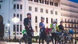 Alger-Tamanrasset à vélo: le pari fou de quatre jeunes Algériens